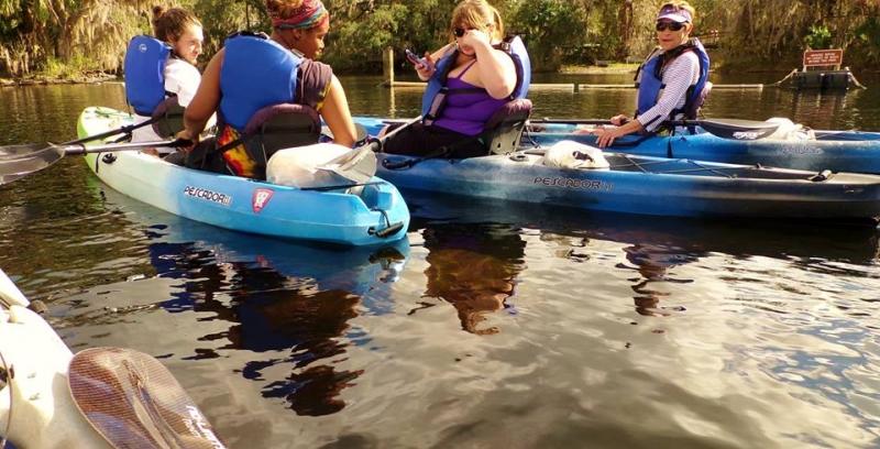 Manatee Kayak Tours ORLANDO BLUE SPRINGS