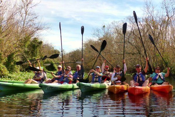 Kayaking Blue Springs