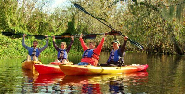 Manatee Kayaking Tours Blue Springs