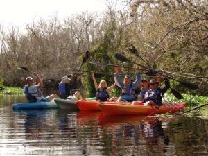 manatee kayak tours blue springhs