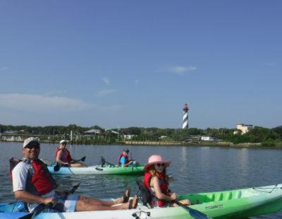 kayaking st augustine